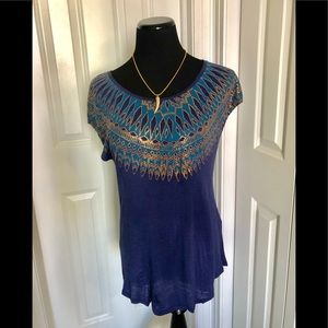 Beautiful shirt by Lucky Brand in size large